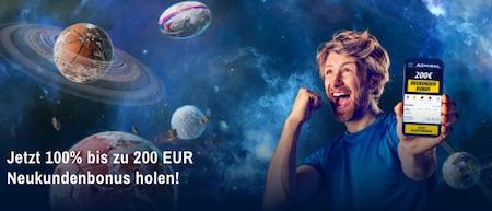 Admiral 200€ Willkommensbonus