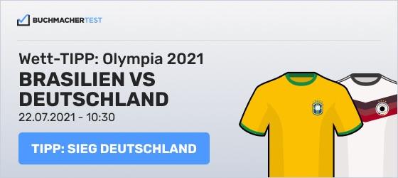 Brasilien Deutschland Wett Tipp Olympia