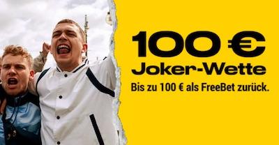 Bwin Joker Wette 100€