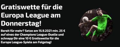mobilebet gratiswette europa league