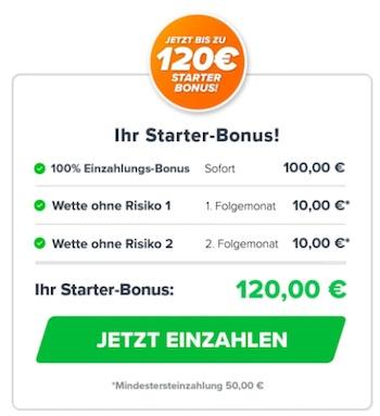 Wetten.com Freebet